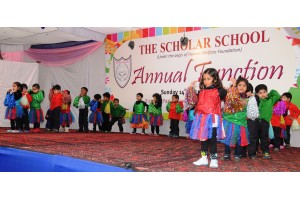 Pre-Primary kids performing during Annua