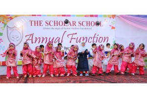 Pre Primary kids performing