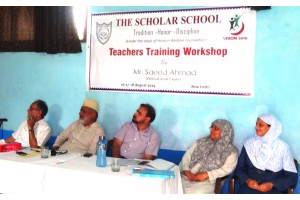 Teachers' Training Workshop and Parents' Interaction Session