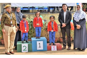 ANNUAL SPORTS DAY-2018 OF PRE -PRIMARY SECTION